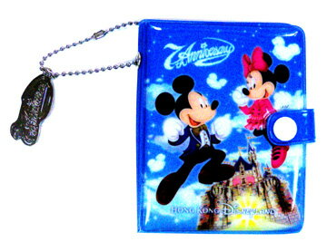 ディズニー 香港ディズニーリゾート  ミッキー、ミニー柄のカードケース