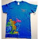 ディズニー 55周年限定・ワールドオブカラー柄のTシャツ 年間パスポートホルダー所持者限定商品   カリフォルニア・ディズニーランドリゾート
