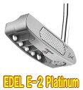 【激レア・送料無料】Edel E-2 PLATINUM トルクバランスパター US仕様 新品!