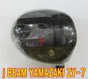 【最新モデル・送料無料】j BEAM ZY-7 ドライバー 未使用新品 + カスタムシャフト装着 スペック指定新品!!