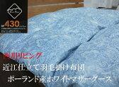 羽毛布団 マザーグース 西川 シングル DP430 マザーグース 近江仕立て 171【送料無料】【楽ギフ_のし宛書】