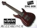 Schecter シェクター AD-C-8-HR-BCH HELLRAISER C-8【8弦ギター】【送料無料】