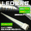 LED蛍光灯 20W型 60cm(600mm) 透明チューブ 4000-4500ケルビン 高輝度790LM 消費電力1/2=10W