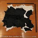 カウラグ ハラコ 子牛毛皮 牛革 マット インテリア ミッドセンチュリー 本革 Genuine Cowhide Skin Leather Rug WILD HEARTS Leather&Silver (ID 11cr4158b35)