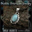 楽天ワイルドハーツネイティブアメリカンスタイル ターコイズ&シルバー925 ペンダントトップTurquoise Sterling Silver Pendant Native American/Navajo Style JewelryWILD HEARTS Leather&Silver (ID 01k7)