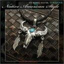 ショッピングHEARTS バッファロースカル フェザー ペンダント カウスカル 牛の頭骨 シルバー 925 ターコイズ Texas Horn Cow Western Bull Skull Pendant Sterling Silver 925 TurquoiseWILD HEARTS Leather&Silver (ID pt3559)