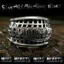 トライアンフリング シルバー925 シルバーアクセサリー トライアンフ Triumph Sterling silver Ring WILD HEARTS Lea...