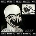 フェイスマスク/スカル/ドクロ/フェイスウォーマー/Face Mask/Skull Mask/Winter Warmer Half Face Mask