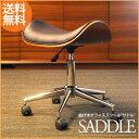 """曲げ木オフィススツール """"SADDLE(サドル)"""" キャスター 椅子 いす チェア スツール 曲木 木製 キャスター付き キャスター付 チェア 成型合板 オフィス オフィスチェア 木製 合成皮革 合皮 レザー あす楽 送料無料"""