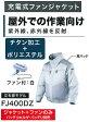 マキタ 充電式ファンジャケット (ジャケット+ファンのみ) 屋外作業用 立ち襟モデル FJ400DZ