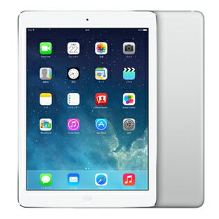 【新品・整備済み品】 Apple/アップル iPad Air Wi-Fiモデル 16GB FD788J/B[シルバー]アップル アイパッド エアー【送料無料】
