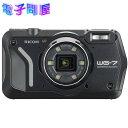 【新品】リコー RICOH デジタルカメラ WG-7 ブラック