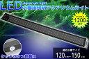 【送料無料】アクアリウムライト 水槽用照明 1200/96発LED 120cm〜150cm