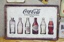 【エントリーで最大P28倍 6/21 20:00-6/26 01:59】送料無料 レトロ ブリキ看板 大判 メタルプレート コカ・コーラ Coca Cola 瓶 ボトル アメリカンレトロ アンティーク【BZ-56】