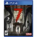 発送日ご確認を!★2月21日発送★新品】PS4ソフト 7 Days to Die (輸入版:北米) (輸入版の為 CERO区分_Z相当)