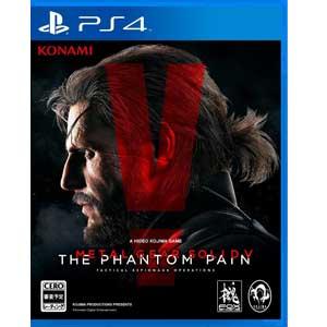 【予約販売】PS4ソフトメタルギアソリッドVファントムペイン(通常版)