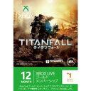 【新品】Xbox360周辺機器 Xbox Live 12ヶ月+1ヶ月ゴールド メンバーシップ タイタンフォール エディション