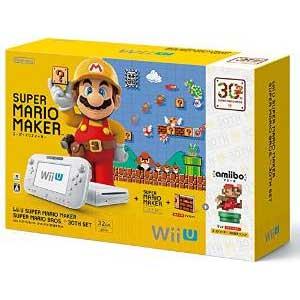 【予約販売】WiiU本体同梱版WiiUスーパーマリオメーカースーパーマリオ30周年セット