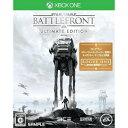 【あす楽13日着★12月12日発送★新品】XboxOneソフト Star Wars バトルフロント Ultimate Edition (セ