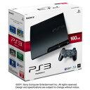 【新品】PS3 PlayStation3 HDD160GB本体 チャコール・ブラックCECH-3000A