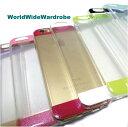ショッピングメカラ ★ほんのりラメカラー感透明クリアiPhone6シンプルカバーケース