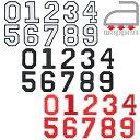 アイロンワッペン//数字 ナンバー 0〜9 3色 ホワイト/ブラック/レッド (NUMBER アップリケ 番号)
