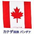 バンダナ || CANADA/カナダ国旗 コットン100% (北米 トロント NHL アイスホッケー)