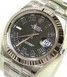 【未使用】ロレックス ROLEX デイトジャスト2 腕時計 ローマ メンズ ランダム 116334 オートマ 参考価格:777,000円【質屋出店】【中古】