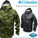 【送料無料】15%OFF[Columbia]コロンビア [WabashPatternedJacket]迷彩マウンテンジャケット[2色]PM5989/ワバシュパターンジャケット/Camoカモ柄/防水レインジャケット/パーカ/メンズ/レインコート/雨具/アウトドア/フェス/キャンプ【RCP】05P03Dec16