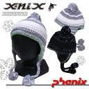 【60%OFF】【メール便対応】X-nix(エクスニクス)イヤーフラップビーニー/ユニセックス/XN278HW12/スキースノーボードニット帽/男女兼..