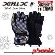 【60%OFF】[ゆうパケット対応]【X-nix】エクスニクス[メンズ]高機能スノーグローブ/XN278GL03[phenix]フェニックス/スノボーグローブ/エックスニクスメンズ/5本指手袋スノー手袋/スノボー手袋/スキー手袋半額【あす楽】【RCP】02P19Dec15