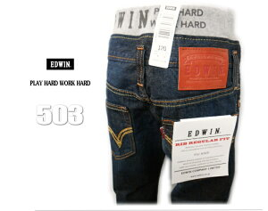 ��EDWIN���ɥ�����*503�ǥ˥ࢣHIT�ڡ�����֥������ȥǥ�����3��RIBRegular���ȥ졼��DENIM**No503RF�֥��ɻҶ����ѥ�ĥǥ˥���