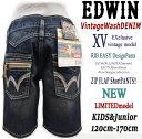 ★★【SALE】【在庫限り】【【VintageWashデニム】【120cm-170cm】【数限定モデル】【EDWINキッズ】Exclusive Vintage ...