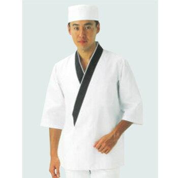 ハッピーコート(調理服)BC1351-1 M【コックコート】【作務衣】【和風コート】