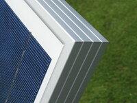 強固な耐腐食アルミフレームを採用!!/ソーラーパネル/太陽光パネル/太陽光発電/太陽電池パネル