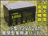 12V12Ah 高性能シールドバッテリー(完全密閉型鉛蓄電池) WP12-12 電動リールに!電動バイクに! UPSにも! 05P03Dec16