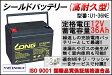 【送料無料】【耐久性1.5倍】12V36Ah 高性能シールドバッテリー(U1-36NE)(完全密封型鉛蓄電池) セニアカーに!