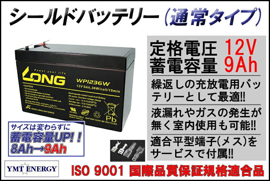 12V9Ah 高性能シールドバッテリー(WP1236W)(完全密封型鉛蓄電池) 05P01Mar16