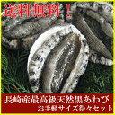 長崎産天然黒あわび(最高級品)食べやすいサイズの黒アワビ(鮑)得々セット(RCP)