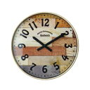 掛け時計 Bushwick ブッシュウィック CL-9361IV【置物・掛け時計】