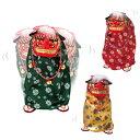 【送料無料】踊る獅子舞 M/置き物 獅子舞 音楽 新春飾り 縁起 踊る 人形