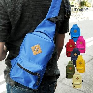 【WHOLLY】7色から選べる!ナイロン ワンショルダーバ