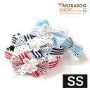 【犬 カラー 首輪】 さわやかボーダーカラー SS 首輪 Luludoll(ルルドール)dk101 【日本製】 ドッグウェア キャットウェア 小型犬