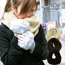 ショッピングスヌード 色違いで欲しい♪暖かラメ ボリューミー スヌード【3】【re20】