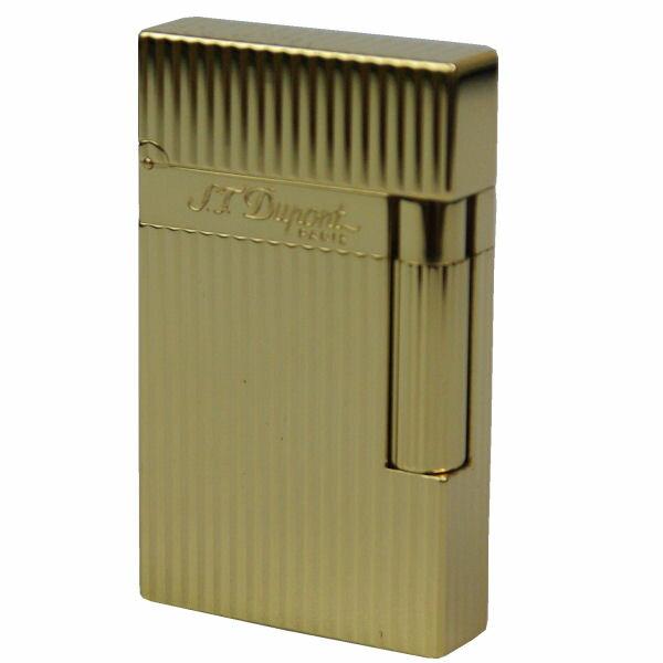 デュポン S.T.Dupont ガスライター ライン2 イエローゴールド フィニッシュ DP-16827