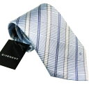 ジバンシー GIVENCHY ネクタイ ブルー系 CR8GP023X3