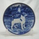 【送料無料】犬の絵皿・ジャック・ラッセル・テリア・#7326 (ドッグプレート)