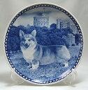 犬の絵皿・ウェルシュ・コーギー・ペンブローク・#7380 (ドッグプレート)