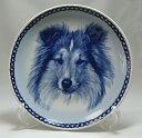 犬の絵皿・シェットランド・シープドッグ・#75646 (ドッグプレート)