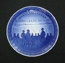 ロイヤルコペンハーゲン 200年記念プレート 1976年 「アメリカ合衆国独立記念」